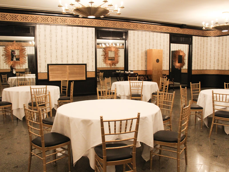 Statler City Ice Ball Oriental Room